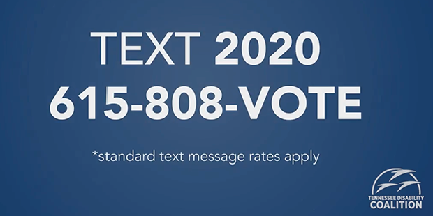 Text to vote